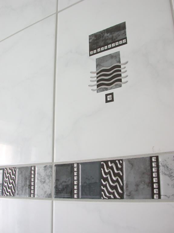pin bild der wc fliesen on pinterest. Black Bedroom Furniture Sets. Home Design Ideas